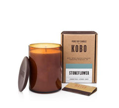 Kobo Soy Candle Stoneflower  Collection
