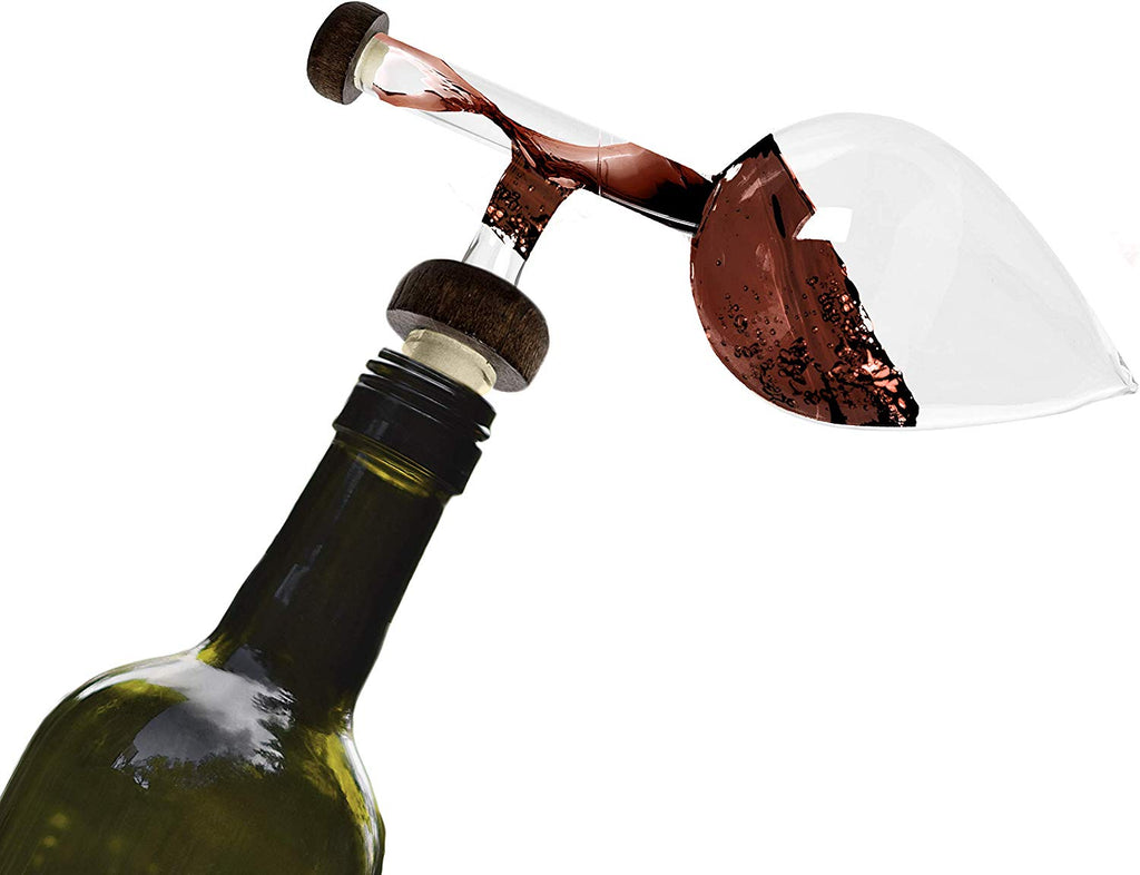The Wine Savant Wine Aerator And Decanter, Wine Aerator on the bottle Aerator for Wine