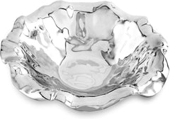 Beatriz Ball Large Vento Alba Bowl, Metallic