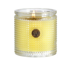 Aromatique Sorbet Textured Glass Candle, 6 oz