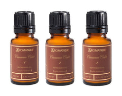 Aromatique Package of 3 1/2 Ounce Refresher Oils - Cinnamon Cider