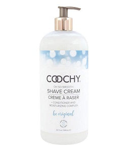 Coochy Shave Cream, Be Original, 32 Ounce