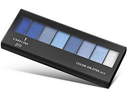 Careline 8 Eye Shadow Set - Blue