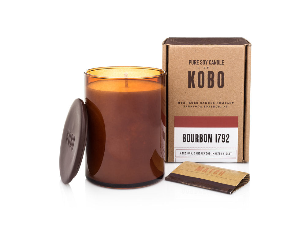 Kobo Candles Bourbon 1792 Candle