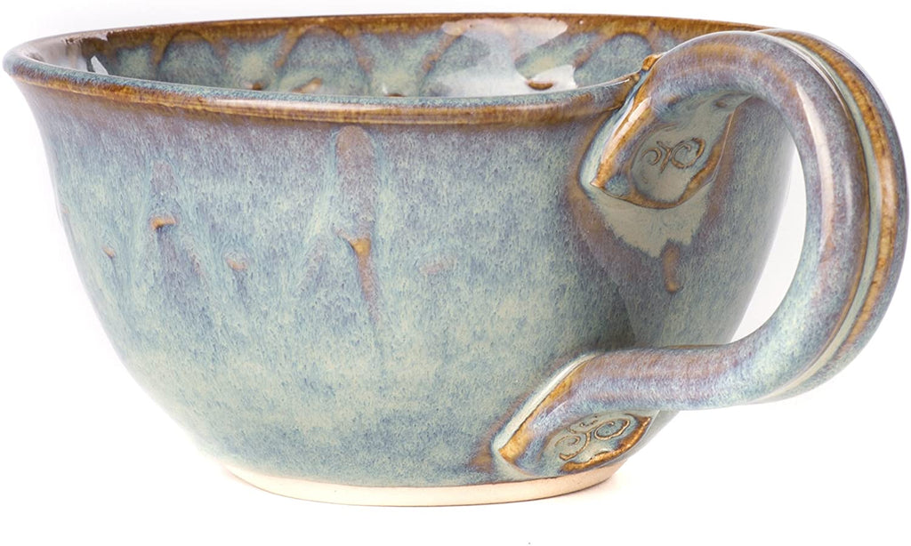 Castle Arch Pottery Irish Handmade Berry and Fruits Washing Bowl 500ml 6x3 Inches