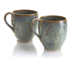Castle Arch Pottery Set of 2 Coffee and Tea Mugs