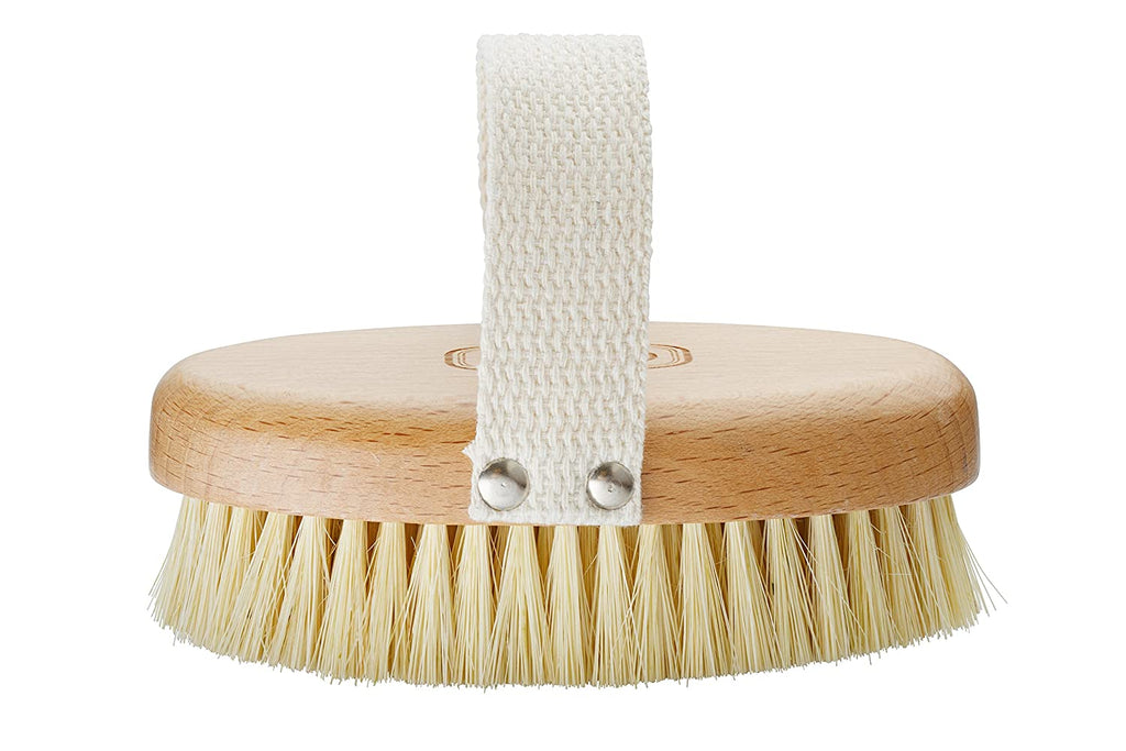 Gute Professional Dry Brush, Dry Skin Body Brush, Dry Brush with Cactus/Vegetable Bristles (Firm/Extra Firm Bristles)