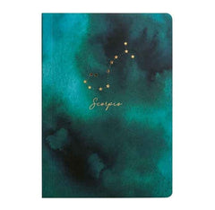 Portico Designs Constellations Softcover Lined Pocket Journal Notebook, Small 4 x 6-Inches, Scorpio