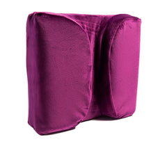 The LaySee Pillow - The Pillow Designed with Your Glasses in Mind - Pillow with Plush Pillow Case (Purple)
