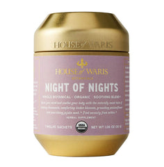 House of Waris Botanicals Night of Nights Herbal Tea - ORGANIC, GLUTEN FREE, VEGAN