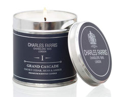 "Charles Farris ""Grand Cascade"" Home Scents Candle, Tin, Multi-Colour"