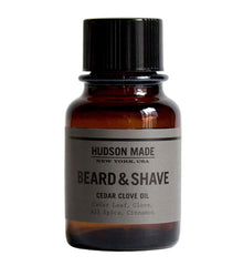 Hudson Made Cedar Clove Beard & Shave Oil 2oz