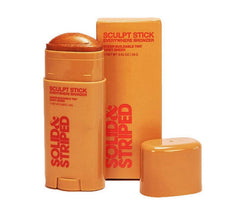 Solid & Striped The Sculpt Stick Everywhere Bronzer - Moisturizing Jelly Balm Tinted Moisturizing Stick for Body .92 oz