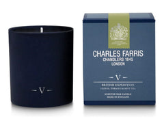 Charles Farris Home scents Candle-Glass-British Expedition