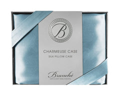 Branche - Blue Charmeuse Case Queen/Standard by Branche