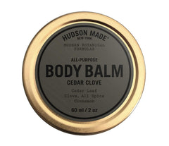 Hudson Made Cedar Clove - Body Balm 2 ounce