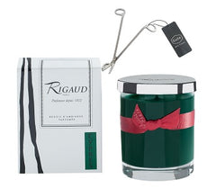 Rigaud Cypres Small Candle and Wick Cutter Bundle (Two Piece Bundle)
