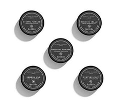 The Daimon Barber Five Piece Hair Styling World Traveler Set