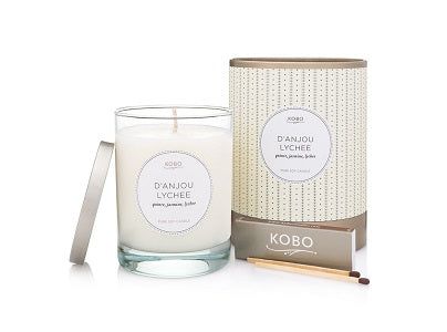 Kobo Candles D'Anjou Lychee Candle
