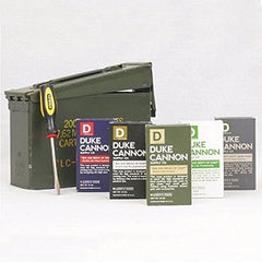 Duke Cannon Ammo Can Gift Set Limited Edition US Military Field Box