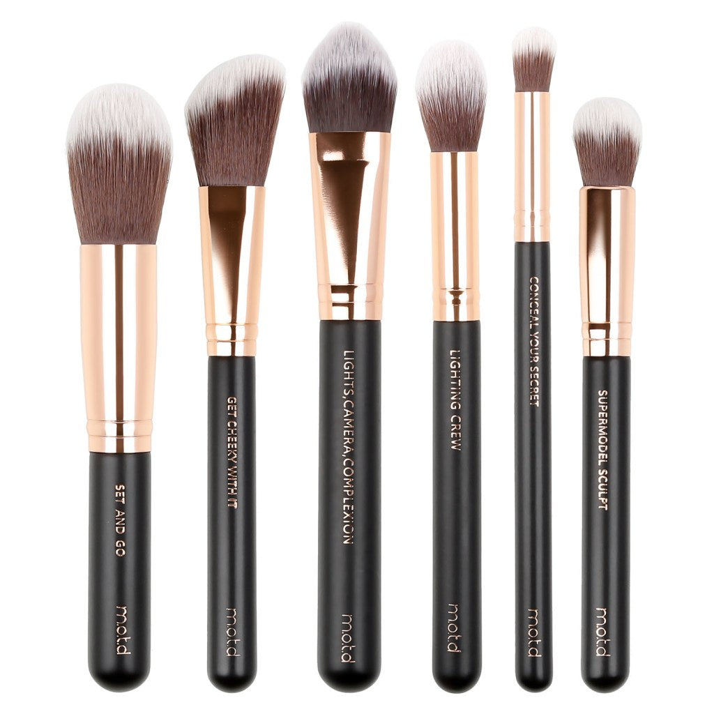 MOTD Pretty Perfect Essential Face Makeup Brush Set