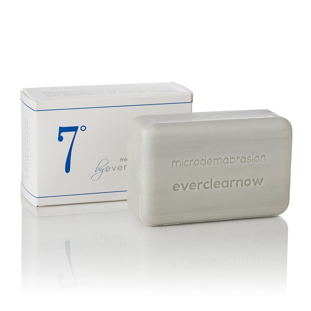 Everclearnow Microdermabrasion Exfoliating Deep Cleansing Soap - XLarge 8 Ounces Soap Bar Microdermabrate and Deeply exfoliate your skin, Removes Dead Skin Cells-Perfect for helping Keratosis Pilaris