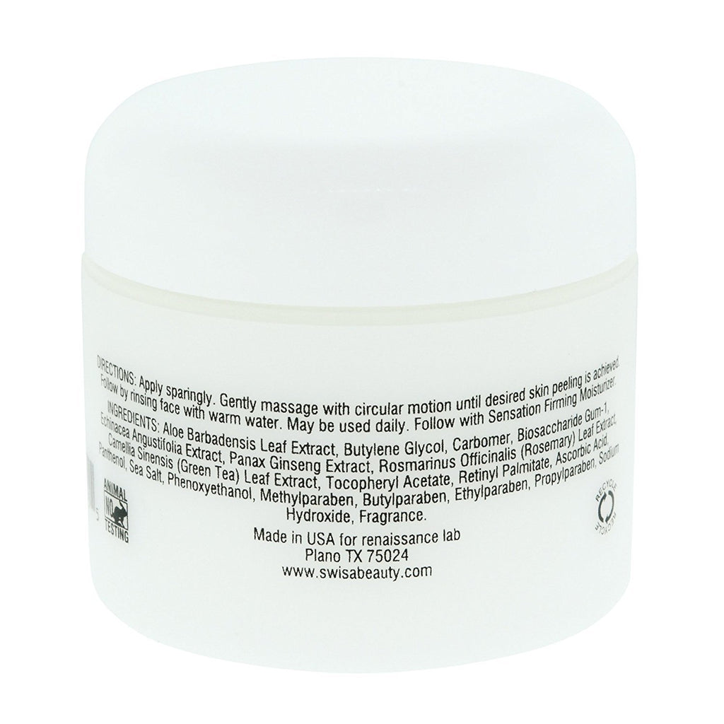 Swisa Beauty Dead Sea Facial Peel - Gentle Exfoliate To Remove Dry And Dead Skin For All Skin Types
