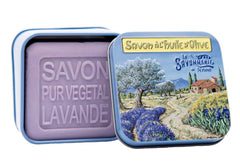 La Savonnerie de Nyons, Soap in A Tin Box, 100 g (Provence)