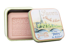 La Savonnerie de Nyons, Soap in A Tin Box La Seine, 100 g
