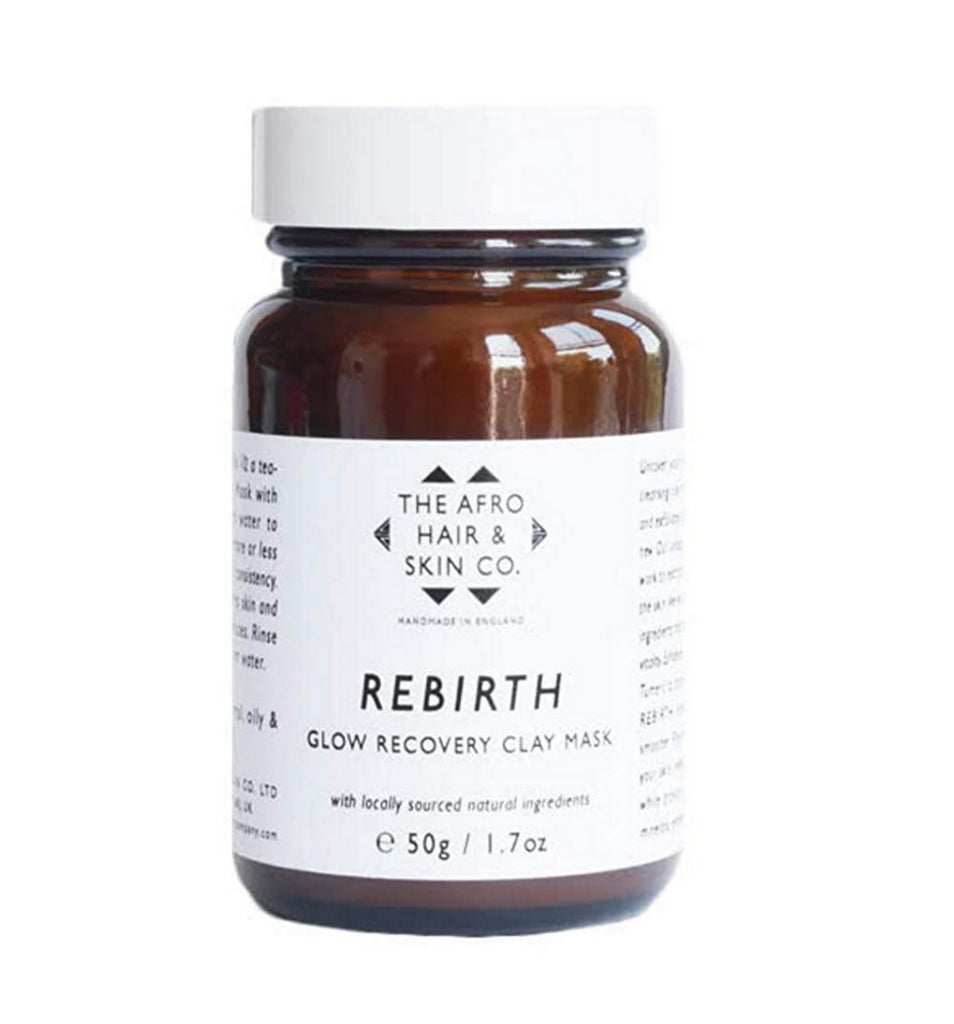 The Afro Hair & Skin Co. REBIRTH - Glow Recovery Clay Mask, 50g