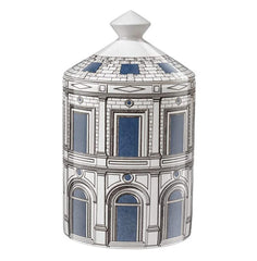 Fornasetti Candle Fornasetti Palace In Porcelain Multicolour