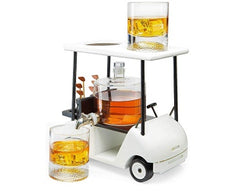 The Wine Savant Golf Decanter Whiskey Decanter and Whiskey Glasses