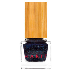 Habit Cosmetics Nail Polish Space Cadet Blue Shimmer Non Toxic