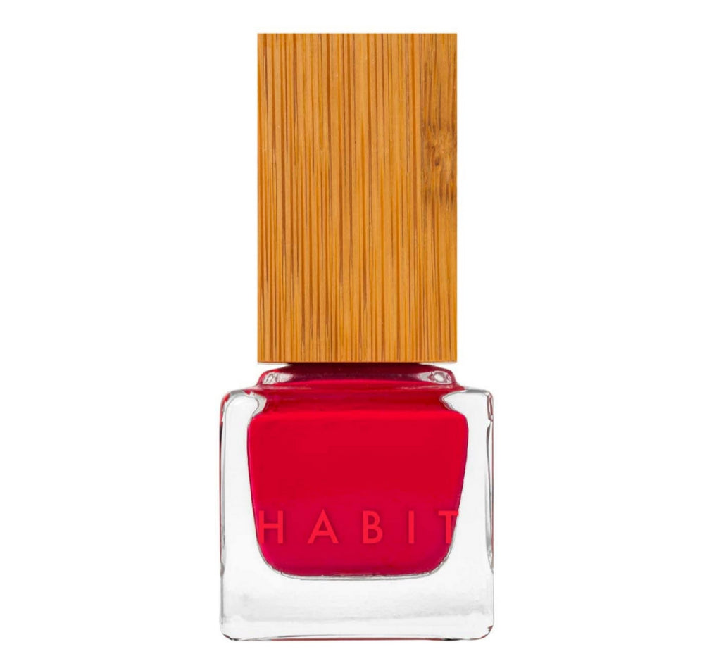 Habit Cosmetics Nail Polish Hussy Maraschino Cherry Red Creme - Non Toxic