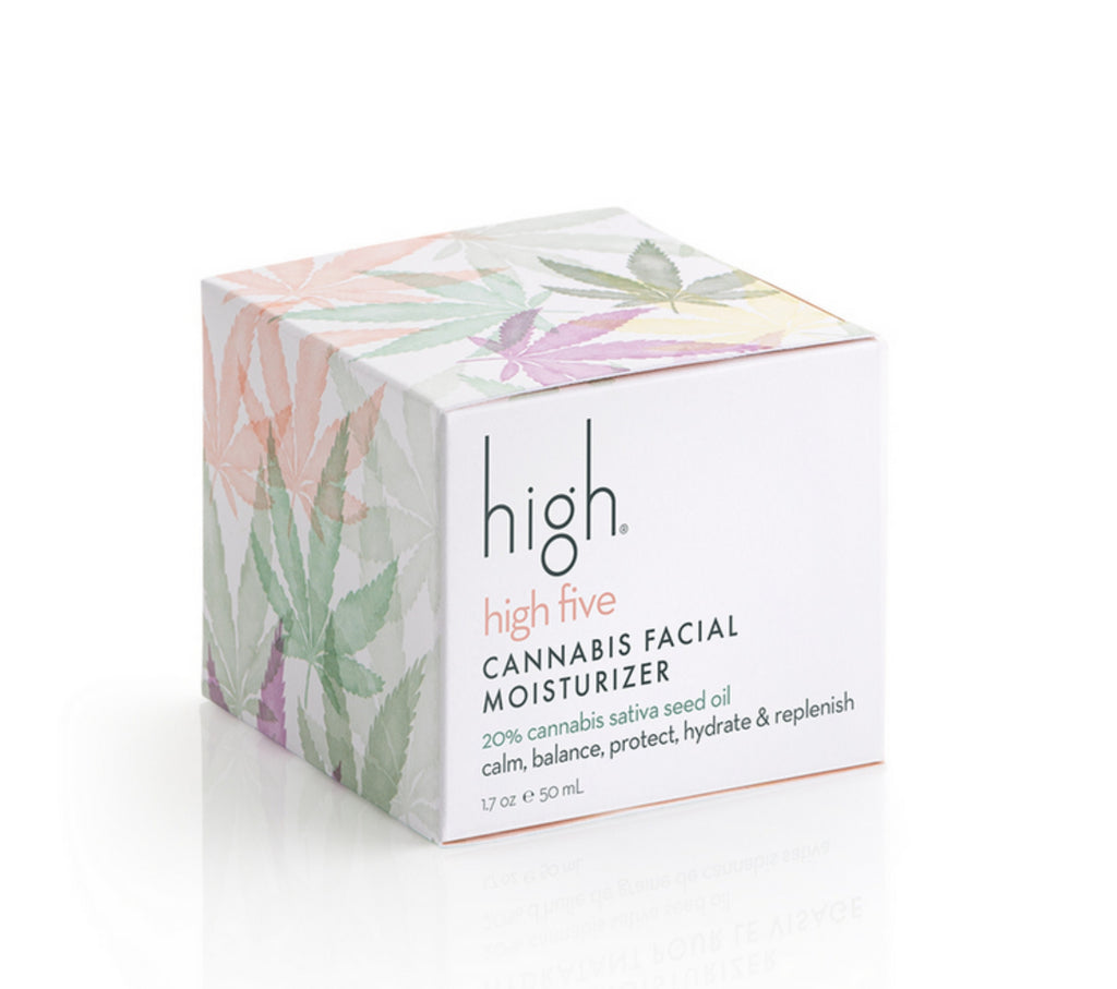 High Beauty High Five Cannabis Facial Moisturizer 1.7 oz