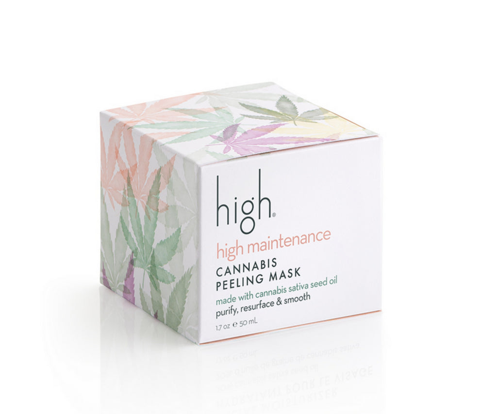 High Beauty High Maintenance Cannabis Peeling Mask 1.7 oz