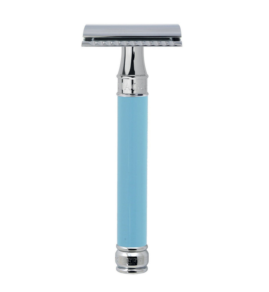 Edwin Jagger Blue DE Safety Razor (Long)
