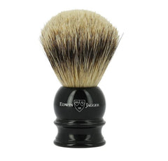Edwin Jagger Imitation Ebony Silver Tip Shaving Brush