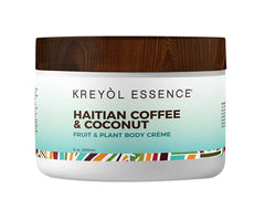 KREYOL ESSENCE Punch Body Crème, 8 OZ (Haitian Coffee and Coconut)