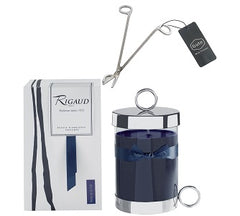 Rigaud Large Model Reine de La Nuit Candle and Wick Cutter Bundle (Two Piece Set)