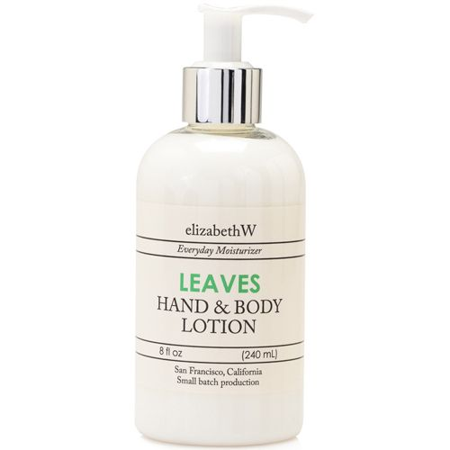 Elizabeth W Leaves Hand and Body Lotion - 8 ounces
