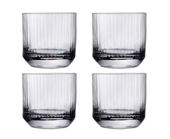 Nude Glass Big Top Set of 4 Whiskey SOF Glasses Lead-Free Crystal (Set of 4)