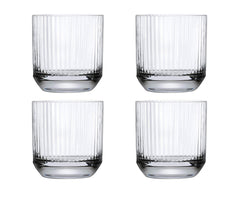 Nude Glass Big Top Set of 4 Whiskey Glasses