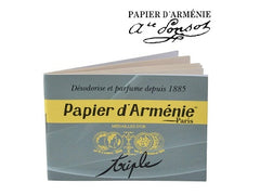 Papier D'Armenie Traditional Burning Papers - 1 Book of 12 Sheets