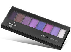 Careline 8 Eye Shadow Set - Purple