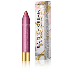 Seraphine Botanicals Long-Lasting Creamy Lip Stain in Raisin and Cream