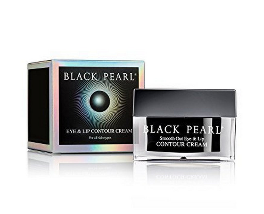 Sea of Spa Black Pearl - Smooth-out Eye and Lip Contour Cream, 1-Ounce