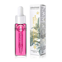 Seraphine Botanical's Sugarcane Lip Drops - Leave-On Lip Exfoliator & Primer (Goji)