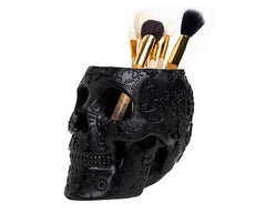 The Wine Savant Skull Makeup Brush Holder Extra Large