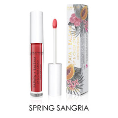 Seraphine Botanicals Papaya + Balsam Lip & Cheek Cream in Spring Sangria